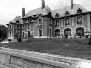 South East Facade of Blairsden Mansion