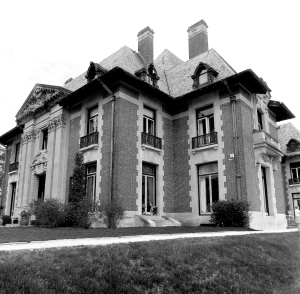South West Facade of Blairsden Mansion