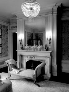 Clinton Ledyard Blair's Master Bedroom.
