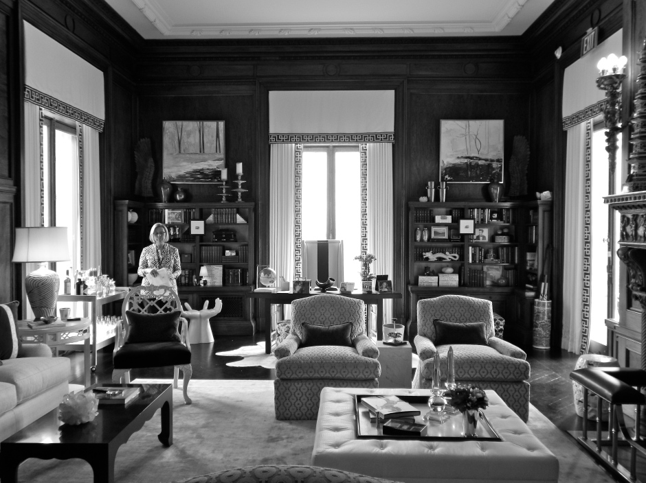 Library Drawing Room overlooking the Somerset Hills
