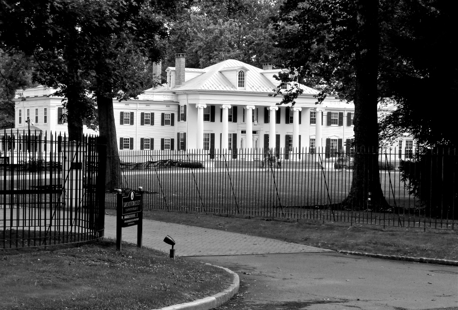Drumthwacket 1835 owned by Charles Smith Olden, purchased and expanded by Moses Taylor Pyne, and then owned by Abram Spanel, before becoming the Governor's Mansion in 1966. It was not used as such until 1981. This mansion was at one time the largest private residence in Princeton.