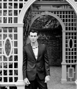 Photo of Matthew James in Walled Garden.