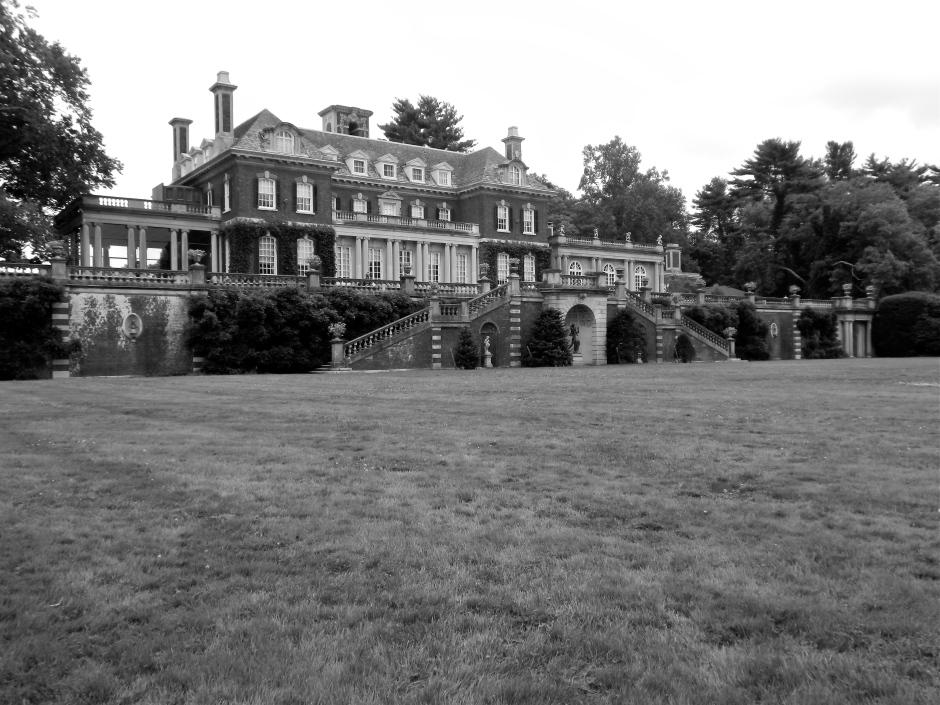 Back Entrance of Westbury House.
