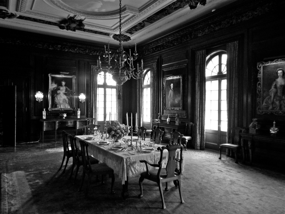 Dining room at Westbury House.