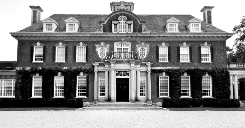 Front entrance of the Phipps estate