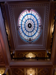 Grand entry Dome on fourth floor.