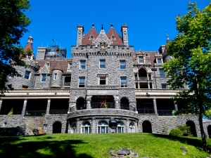 Boldt Castle. Lowest level contains indoor pool.