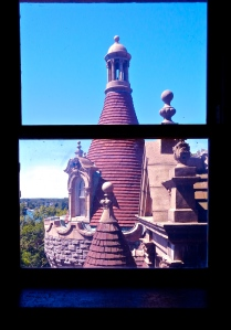 view our of tower window.