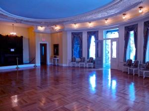 Ballroom of Boldt Castle.