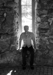 Matthew J. Niewenhous in the Dovecote.