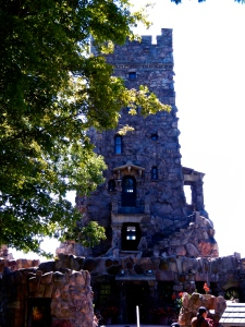 Alster Tower. The Boldt's lived here while the castle was being constructed.