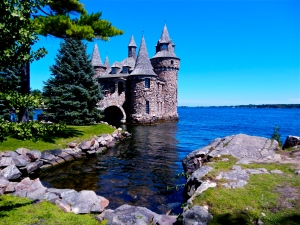 Boldt Castle Power House. Restored after 1939 fire and deterioration.