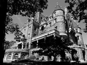 Boldt Castle on Heart Island, New York.