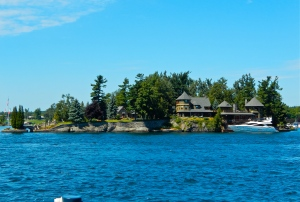 Full property of Alexandria Bay estate.