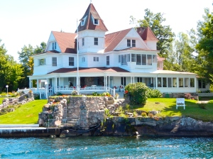 Historic home on the St. Lawrence River.