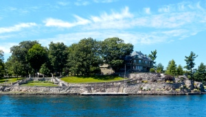 Wellesley Island estate.