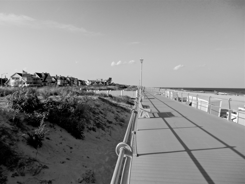 Boardwalk looking North