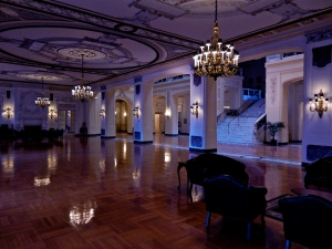 Large space joined with the Great Hall. Monmouth University uses this space for large events such as fundraisers and fashion shows.