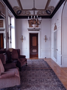 Mr. Parson's private lounge.